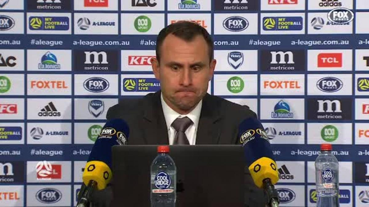 Garcia: Once again fatigue got the better of us | Press Conference | A-League
