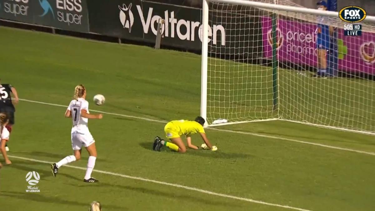 SAVE: On debut Aquino saves the day for Brisbane