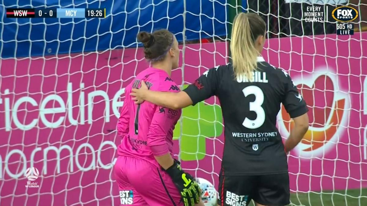 SAVE: Willacy - Western Sydney keeper up to the task