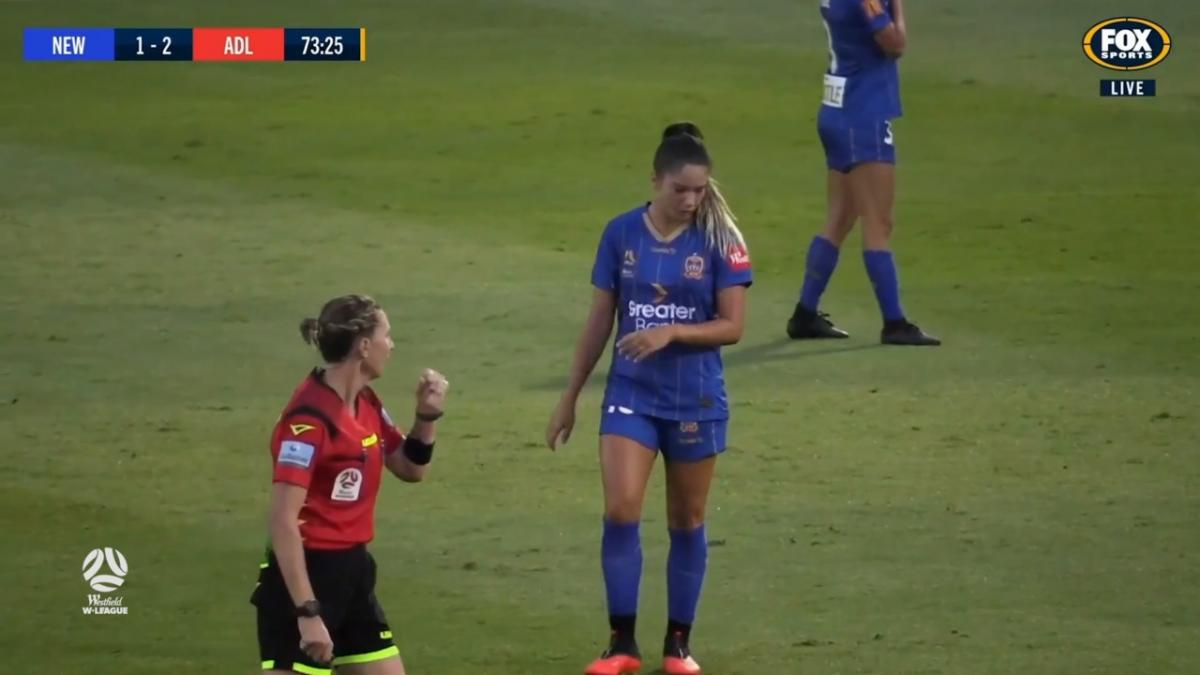 CHANCE: Petratos - Newcastle's number ten tries from distance