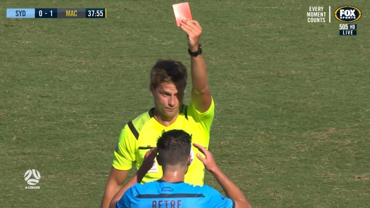RED CARD: Retre - Going from bad to worse for Sydney