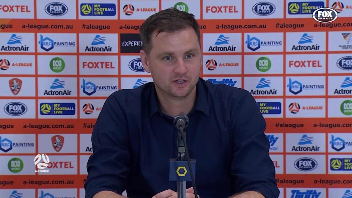 Moon: We switch off during key moments | Press Conference | A-League