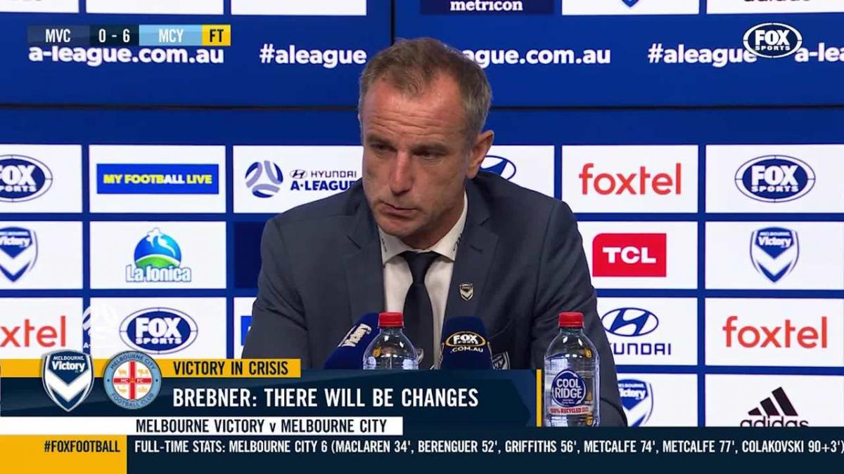 Brebner: I take full responsibility | Press Conference | A-League