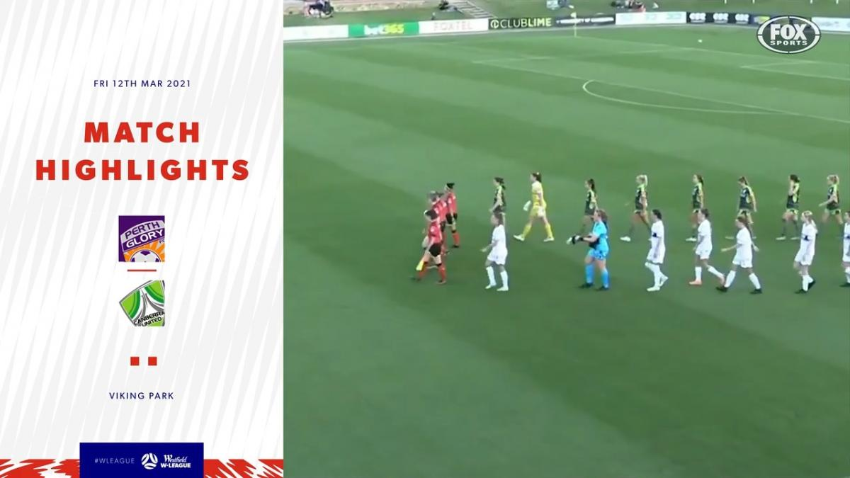 Perth Glory v Canberra United | Match Highlights | Westfield W-League