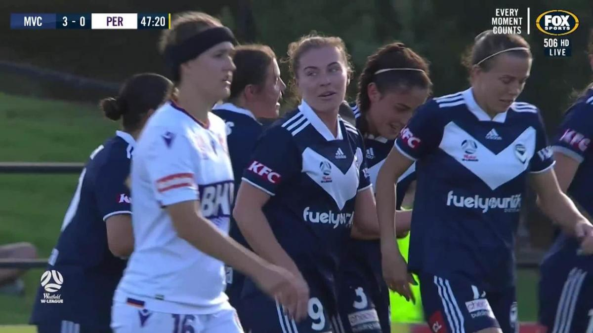 GOAL: Bunge - Melbourne start the second half in style