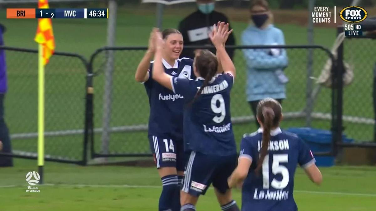 GOAL: Ayres - Victory waste no time in the second half