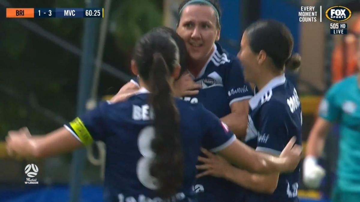 GOAL: De Vanna - Victory with one foot in the Final