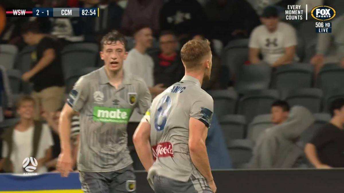 GOAL: Bozanic - Central Coast just won't give up