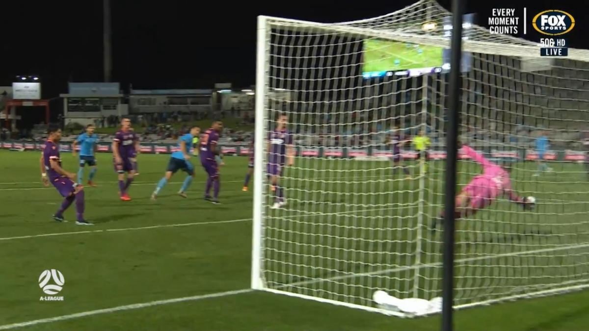 SAVE: Reddy - Perth keeper on fire between the sticks