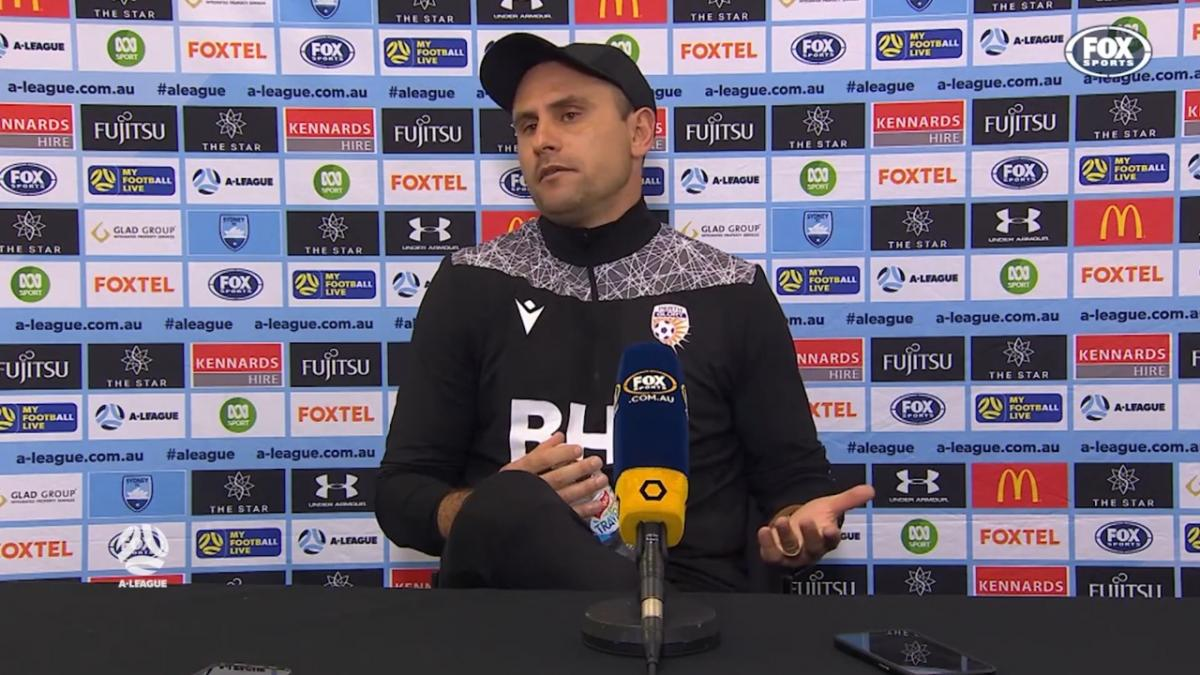 Garcia: I am baffled about the outcome | Press Conference | A-League