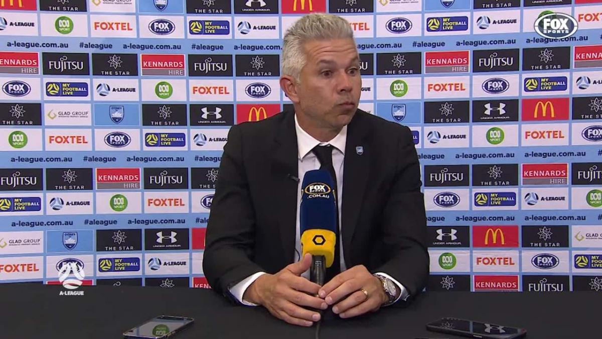 Corica: Bobo causes so much havoc | Press Conference | A-League