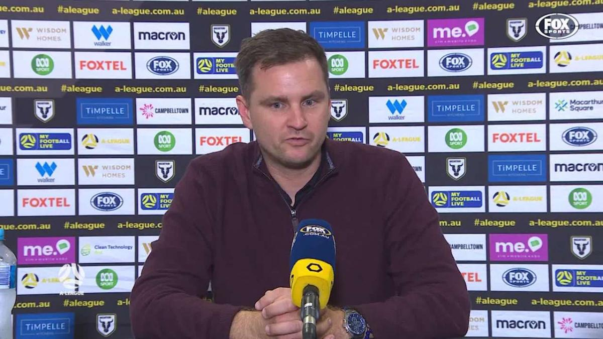 Moon: Reason for Scott's absence is still unclear | Press Conference | A-League