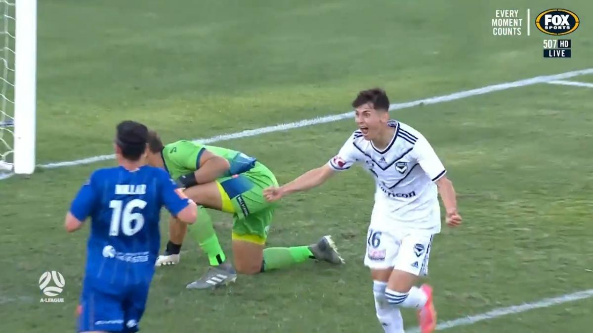 GOAL: Brooks - Youngster scores maiden A-League goal in dramatic fashion