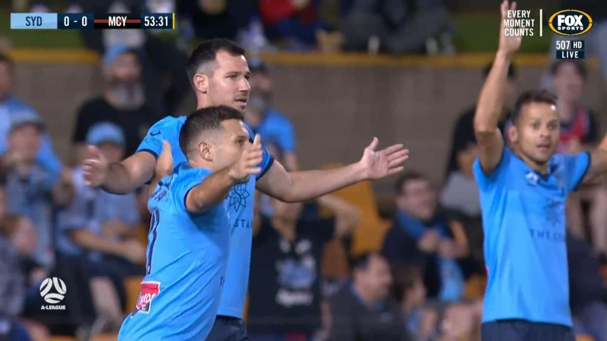 GOAL: Barbarouses - Sydney find the goal off a scramble
