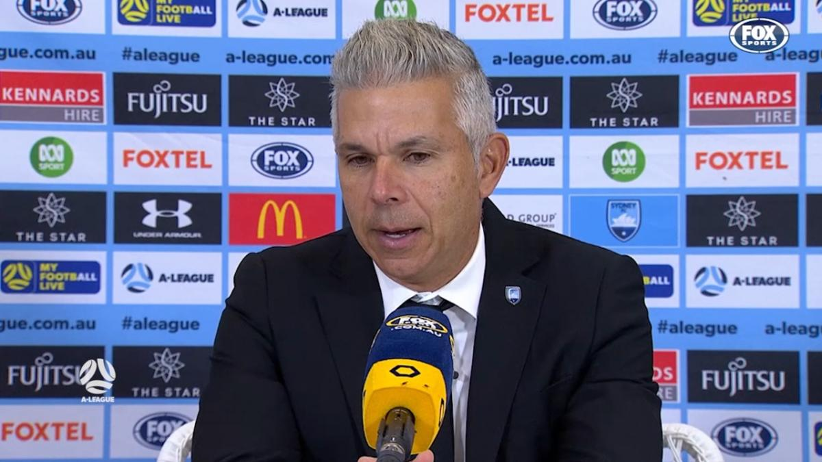 Corica: I am gutted about the result | Press Conference | A-League