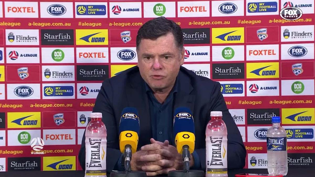 Veart: We looked like the only team to score | Press Conference | A-League