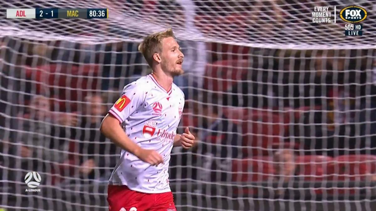 GOAL: Halloran - Brilliant piece of skill from the winger