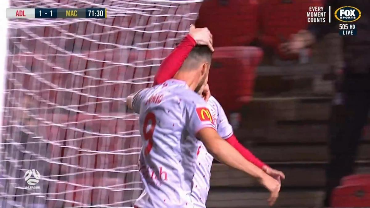 GOAL: Goodwin - Adelaide back in front