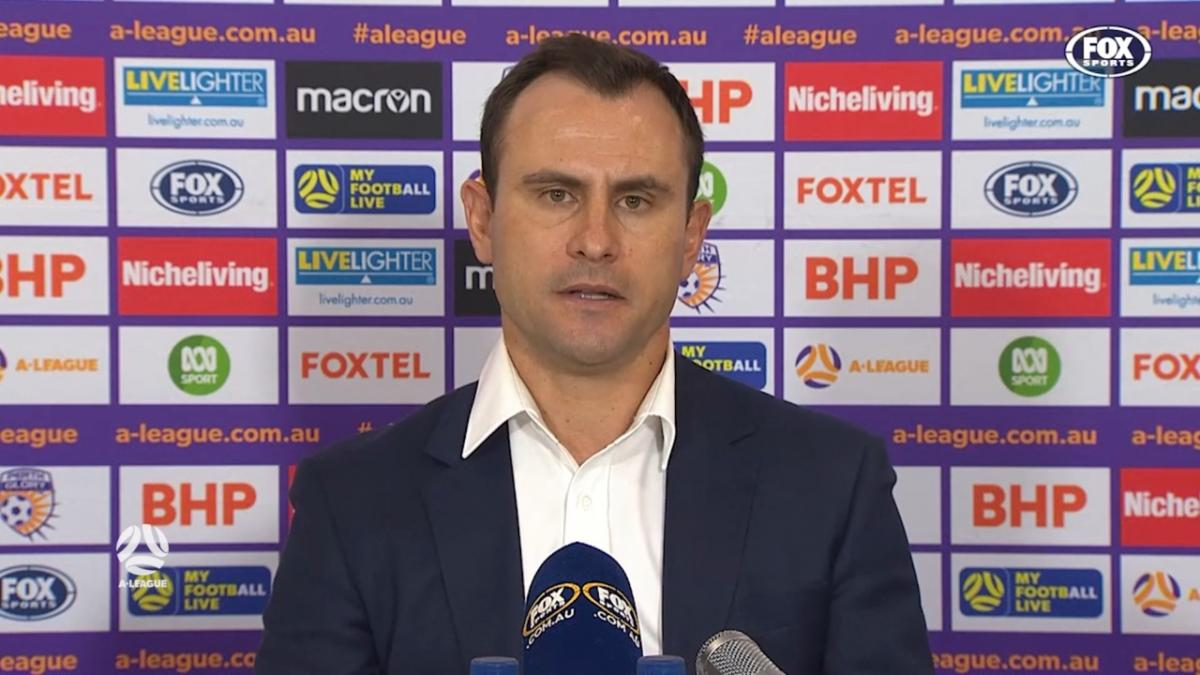 Garcia: We're not switched on for the full ninety | Press Conference | A-League