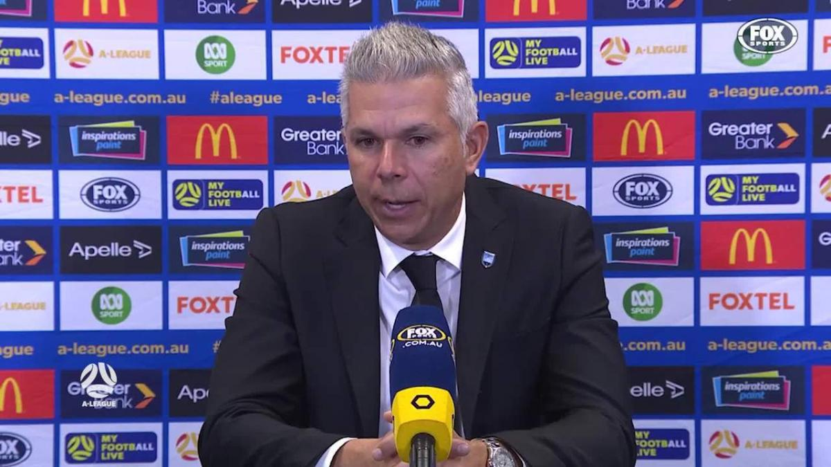 Corica: We need to improve a lot for second spot   Press Conference   A-League