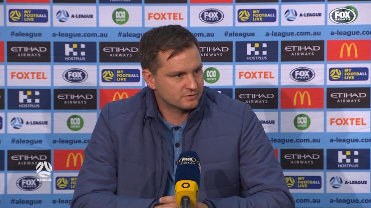 Moon: No excuses for conceding that third goal | Press Conference | A-League