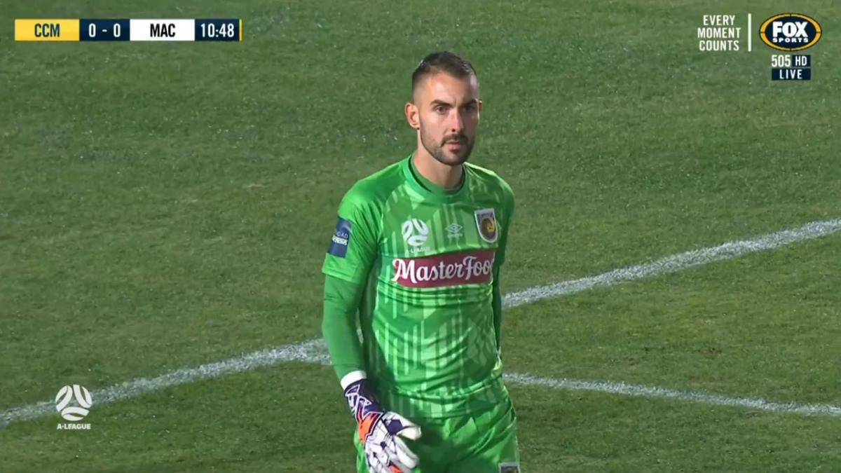 SAVE: Birighitti - Mariners keeper in no mood to concede