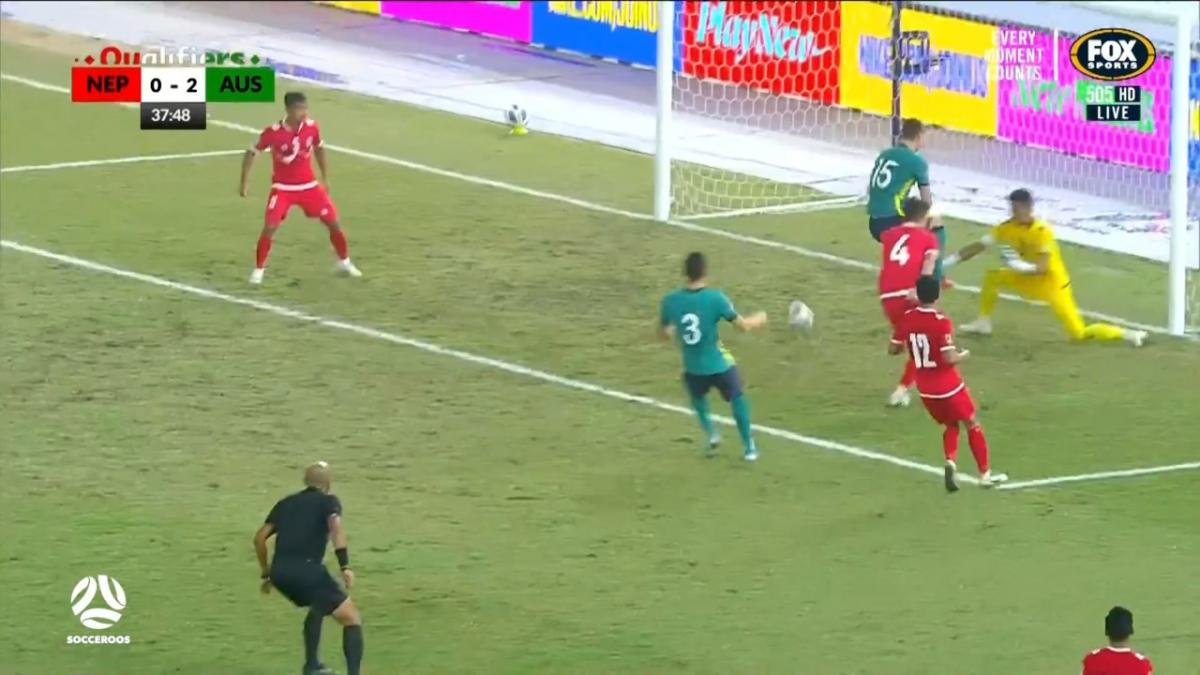 GOAL: Karacic - Debut goal for the right back