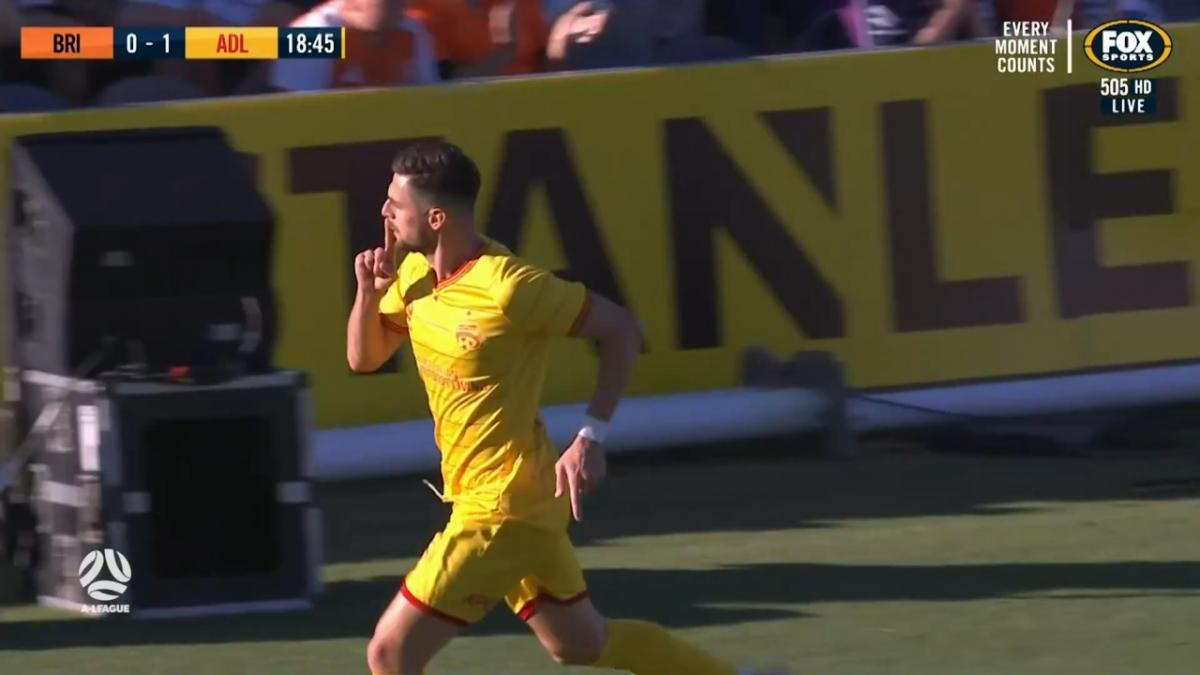 GOAL: Juric - Quick-fire-double silences Redcliffe