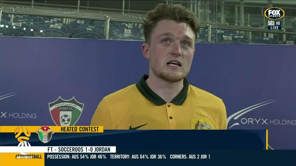 Souttar: It's not only about my goals    Interview   World Cup 2022 Qualifiers