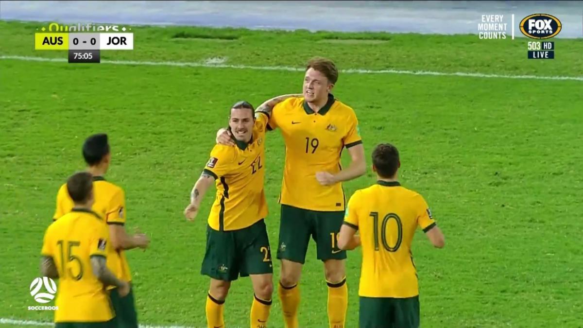 Australia v Jordan   Match Highlights   Australia's FIFA World Cup 2022 Qualifier