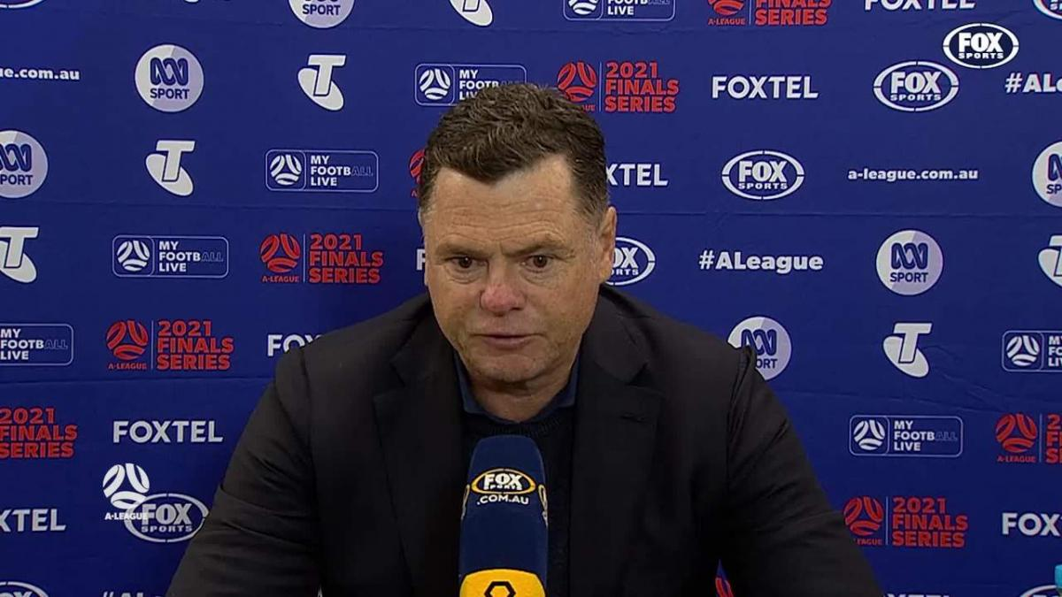 Veart: The ball didn't go our way | Press Conference | A-League