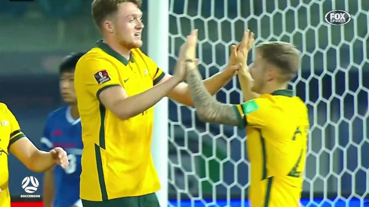 Every Harry Souttar goal for the Socceroos