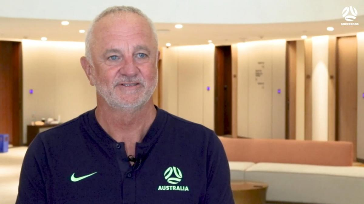 Graham Arnold reacts to Socceroos Asian Qualifiers Final Round Draw
