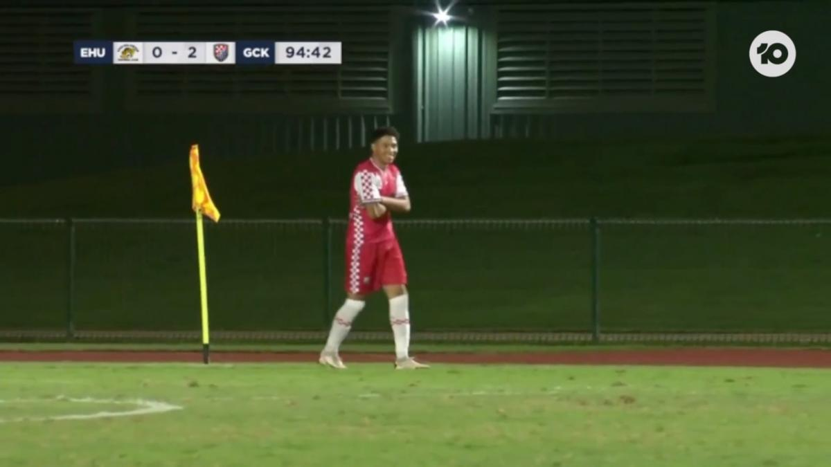 GOAL: Mariner - Gold Coast seal the deal in injury time