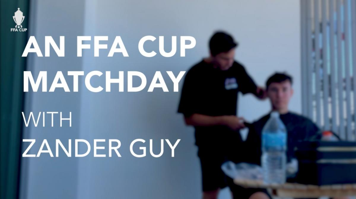 Players' perspective: An FFA Cup matchday with Peninsula Power's Zander Guy
