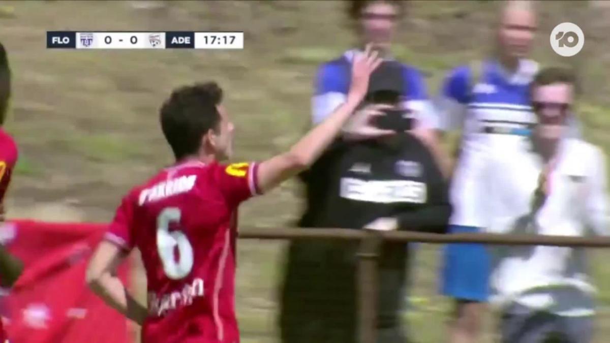 GOAL: D'Arrigo - The Reds lead in Perth