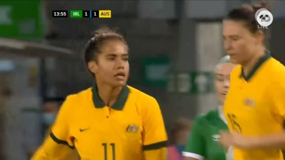 GOAL: Fowler - Matildas answer right back