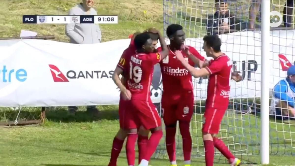 GOAL: Blackwood - Adelaide go in front in extra time
