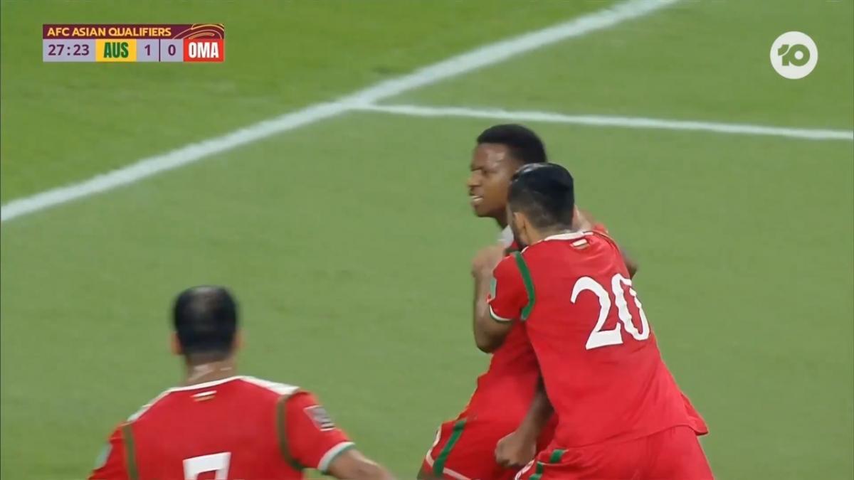 GOAL: Al Alawi - Oman equalise