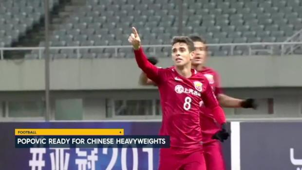 Popovic ready for Chinese heavyweights