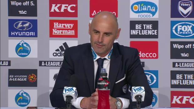 Central Coast post match media conference