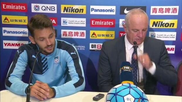 Sydney FC ACL MD4 press conference