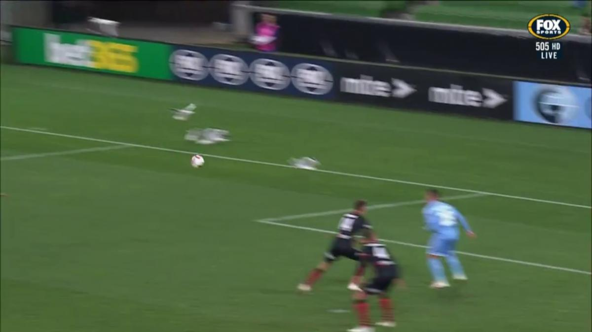 Donate Life Save of the Night from Matchday Day Two of the FFA Cup 2019 Quarter-Finals