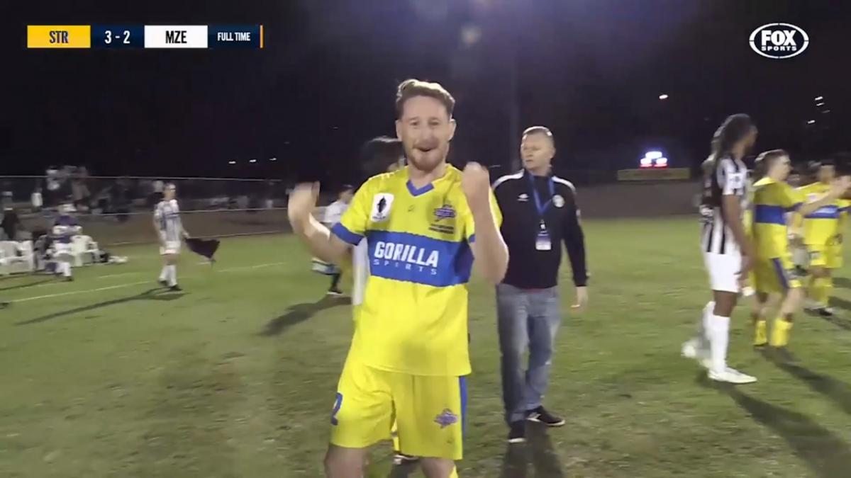 Full-time highlights: Brisbane Strikers v Moreland Zebras