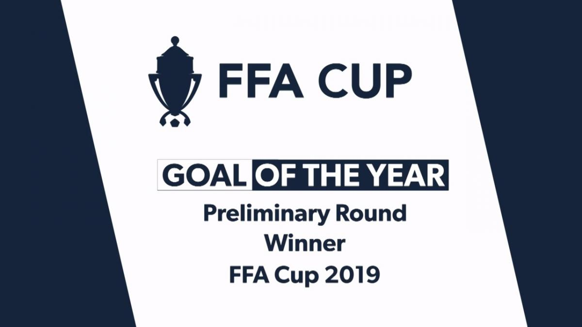 FFA Cup 2019 Preliminary Rounds Goal Winner