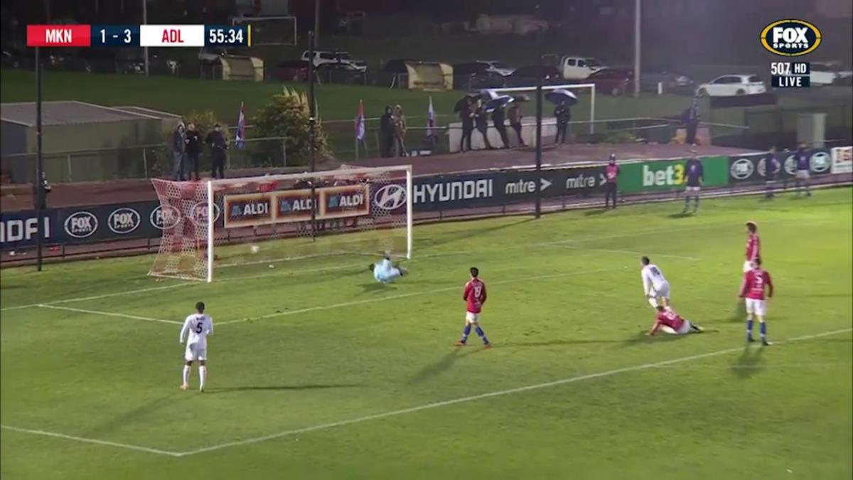 Full-time highlights: Melbourne Knights v Adelaide United