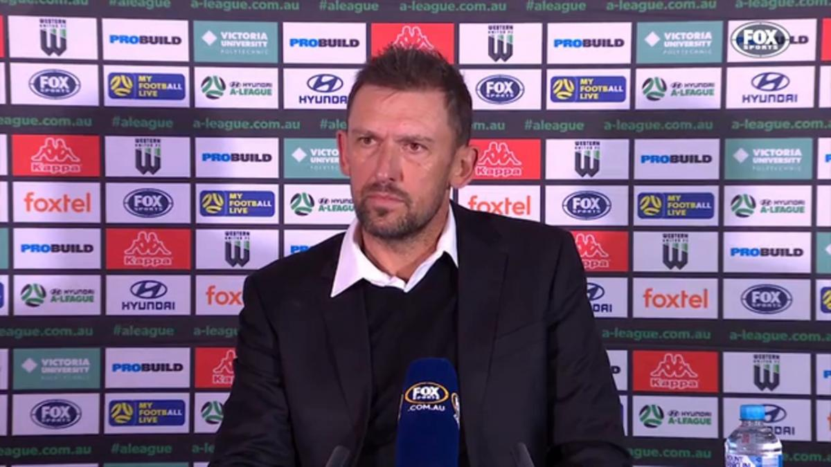 Popovic: It's unique for a coach's son to score | Press Conference | Hyundai A-League