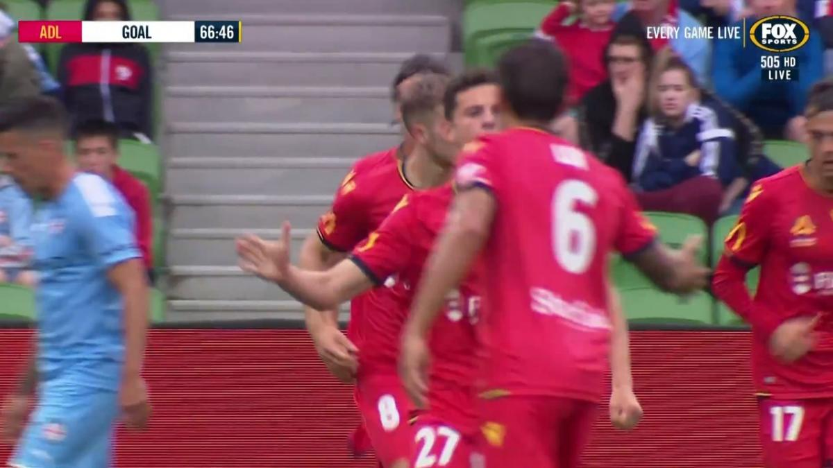 GOAL: McGree - The tricky player grabs one against his former team
