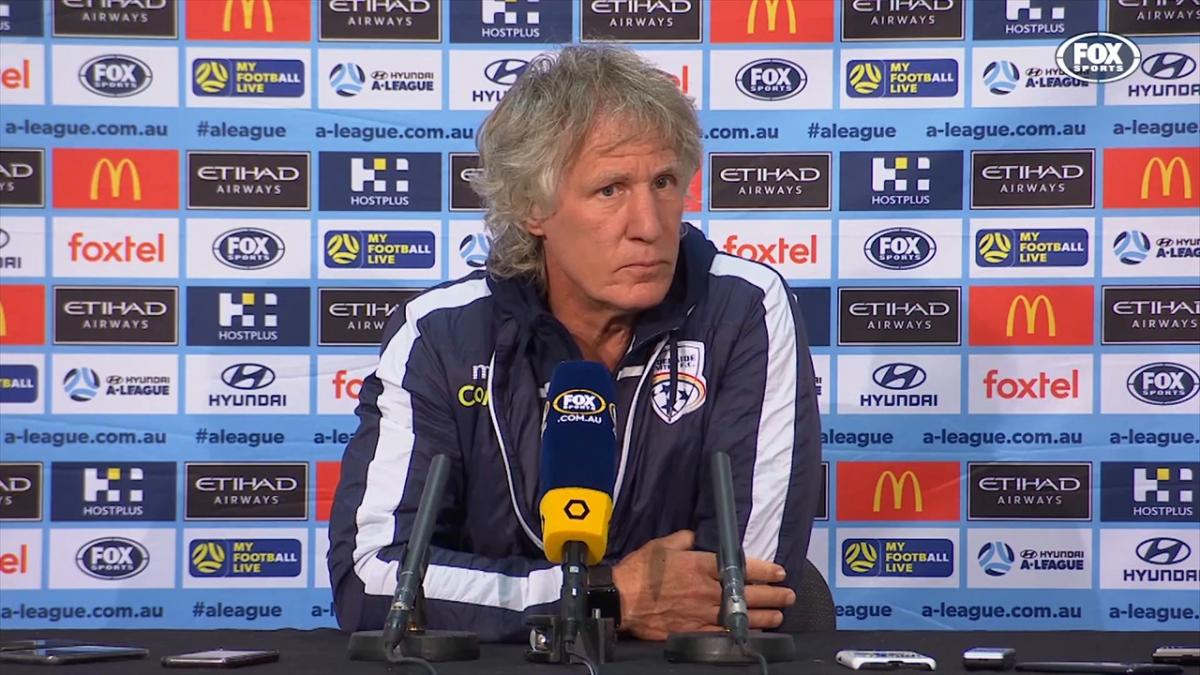 Verbeek: The casualties forced us to improvise | Press Conference | Hyundai A-League