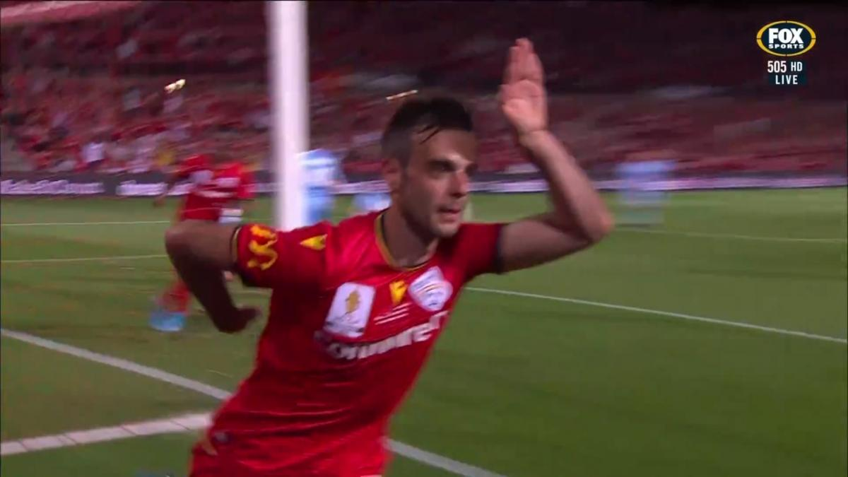 GOAL: Mileusnic - The Reds on the verge of lifting silverware